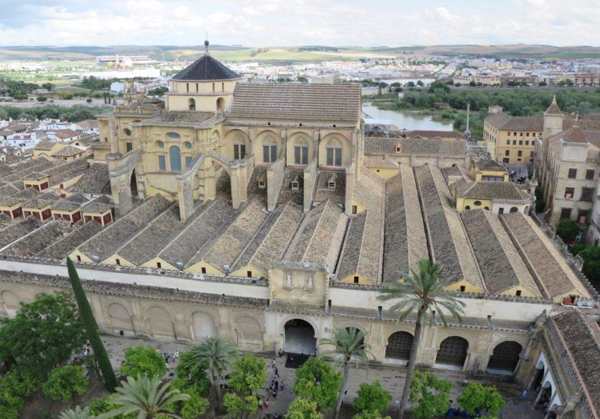 Vue sur la Mezquita depuis le clocher