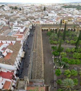 Vue sur Cordoue depuis le clocher de la Mezquita