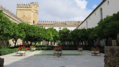 Les jardins de l'Alcazar des rois catholiques de Cordoue
