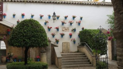 Les patios del Alcazar Viejo de Cordoue
