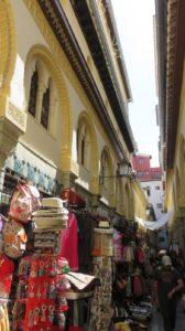 Les rues commerçantes de Grenade