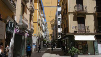 Les rues piétonnes de Grenade
