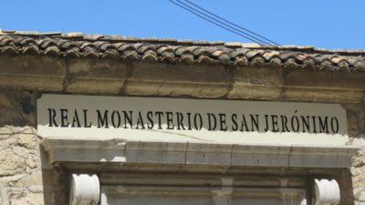 Le monastère de San Jéronimo - Grenade