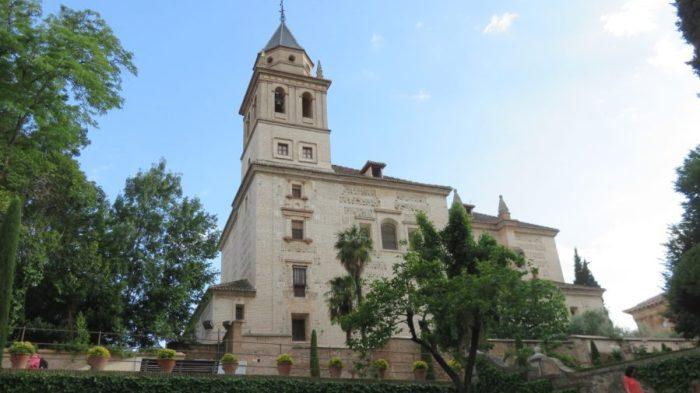 L'église Santa Maria de l'Alhambra - Grenade