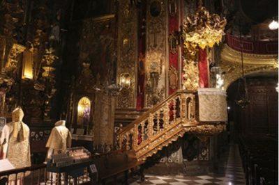 La chaire de la basilique St Jean de Dios - Grenade