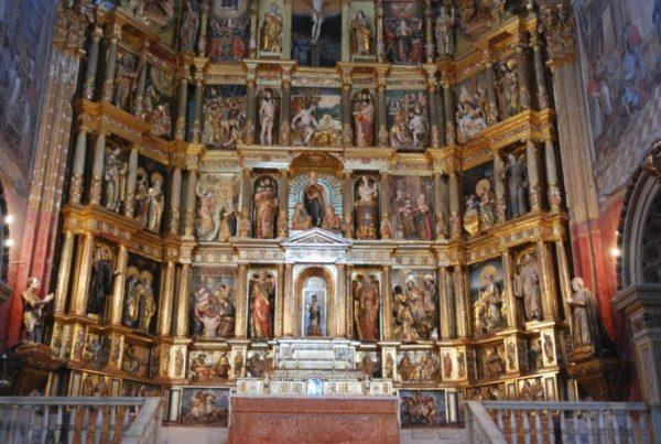Le retable du monastère San Jéronimo de Grenade