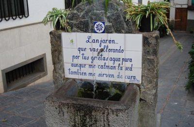 Lanjarón - ville d'eau