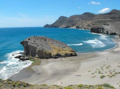 plage sauvage dans le parc de Cabo de Gata