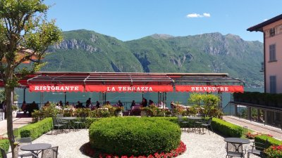 Les terrasses de Bellagio - lac de Côme