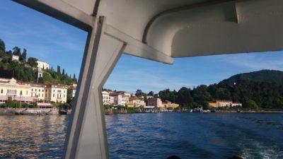 On quitte Bellagio pour la villa Carlotta sur l'autre rive