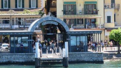 Le débarcadère de Bellagio