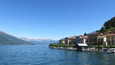 Bellagio au bord du lac de Côme