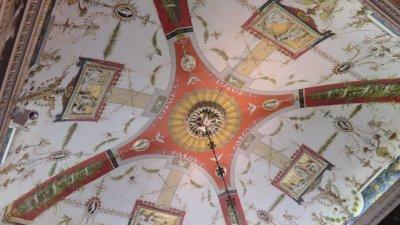 Les beaux plafonds de la villa Carlotta - Tremezzo