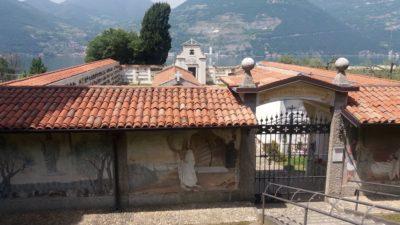 Le cimetière de Monte Isola