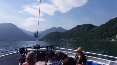 En bateau vers Monte Isola