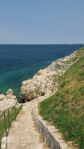 Le bord de mer de Rovinj