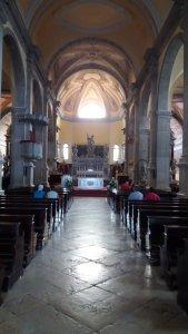 La nef de l'église Ste Euphémie à Rovinj