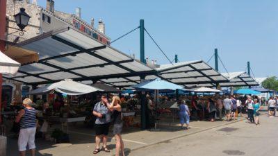 Le marché de Rovinj