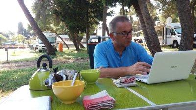 Au camping Arena Stoja de Pula
