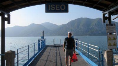 L'embarcadère d'Iseo