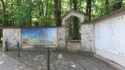 Nous approchons du sanctuaire Della Ceriola sur Monte Isola