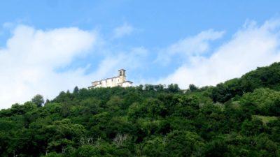 Le sanctuaire Della Ceriola sur Monte Isola