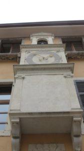 La tour de l'horloge de Salo