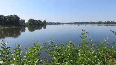 Le lac inférieur de Mantoue