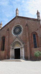 L'église st François de Mantoue
