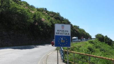 Frontière croate