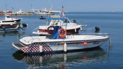 Le port de plaisance d'Umag