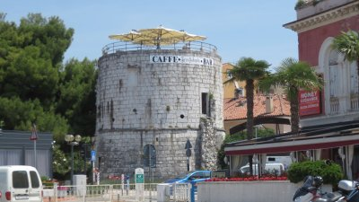 La tour ronde de Porec