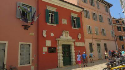 Les administrations colorées de Rovinj