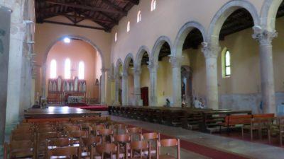 Dans la cathédrale de Pula