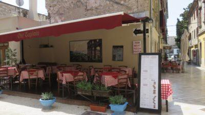 Restaurant dans la vieille ville de Pula