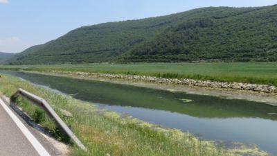 Le long de la rivière Rasa (Istrie)