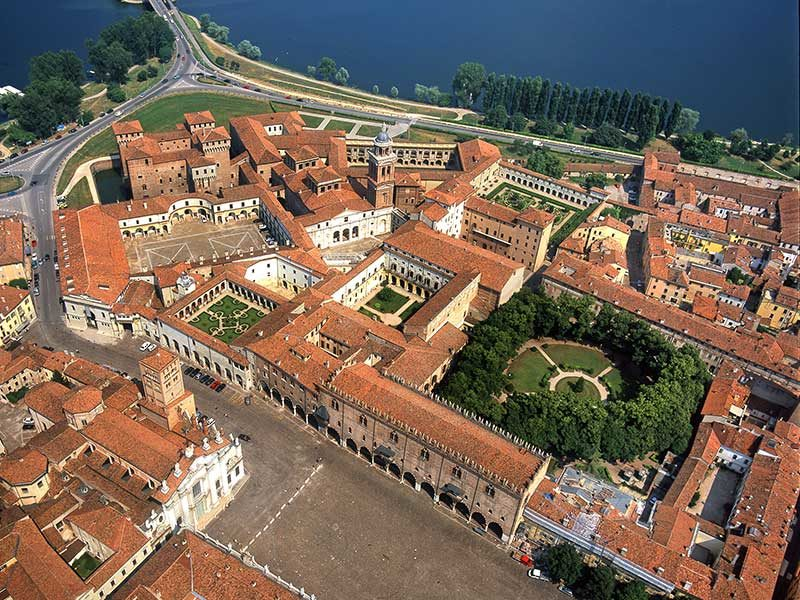 Mantoue - Le palais ducal