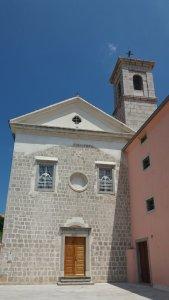 Monastère franciscain et église St François de Krk (Croatie)