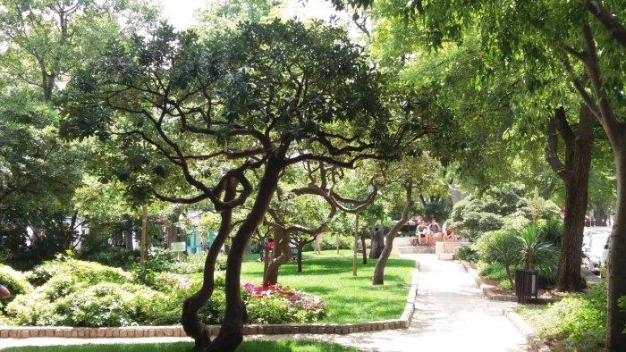 Les jardins de Krk (Croatie)