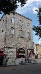 Dans les rues de Krk (Croatie)