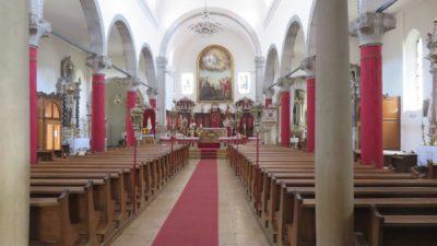 L'église Sainte Marie des Neiges à Cres