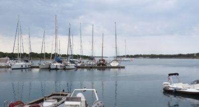 Osor sur l'île de Cres (Croatie)