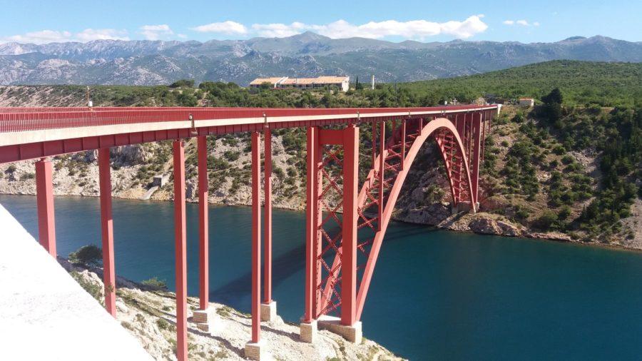 Le pont de Maslenica (Croatie)