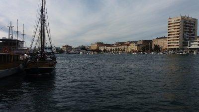 Le port de Zadar (Croatie)