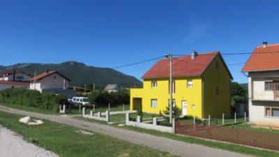 Sur la route entre Korenica et Zadar