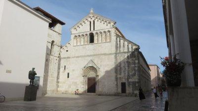 l'église Saint Chrysogone, le saint patron de Zadar