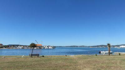 Sur la route entre Zadar et Pakostane (Croatie)