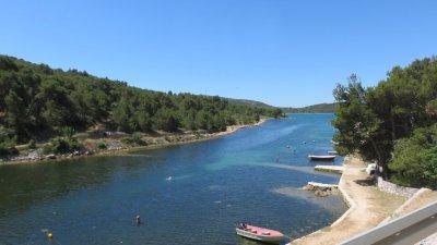 A proximité de l'île de Murter (Croatie)