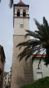 La tour de la cathédrale St Laurent de Trogir