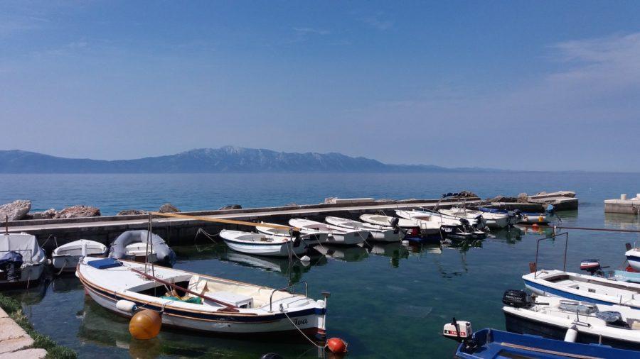 Le port de Zaostrog - Croatie